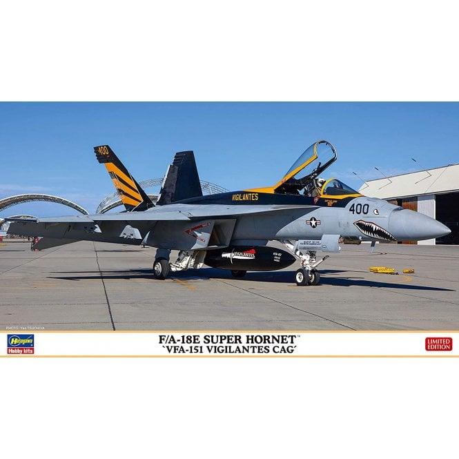 Hasegawa 1:72 F/A-18E Super Hornet VFA-151 Vigilantes CAG Aircraft Model Kit