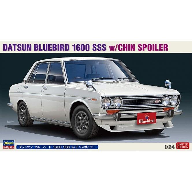 Hasegawa 1:24 Datsun Bluebird 1600 SSS W/Chin Spoiler Car Model Kit