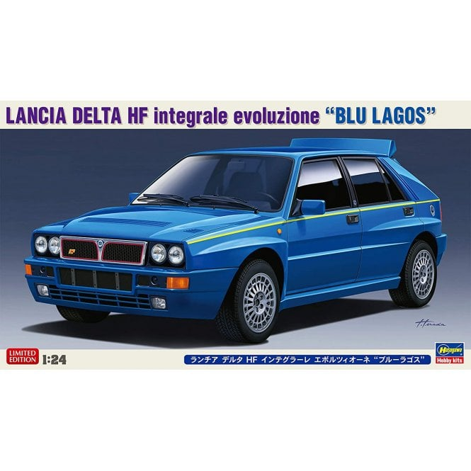 Hasegawa 1:24 Lancia Delta HF Integrale Evoluzione Car Model Kit