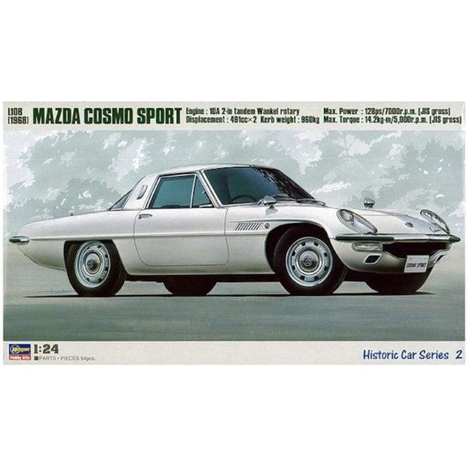 Hasegawa 1:24 Mazda Cosmo Sport L10B Car Model Kit
