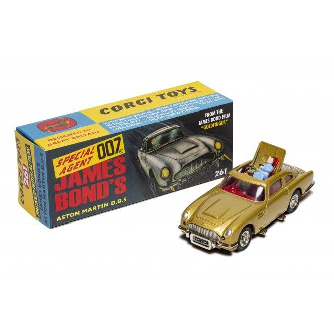 Corgi 1:43 James Bond - Aston Martin DB5 'Goldfinger' 60's version Model Car