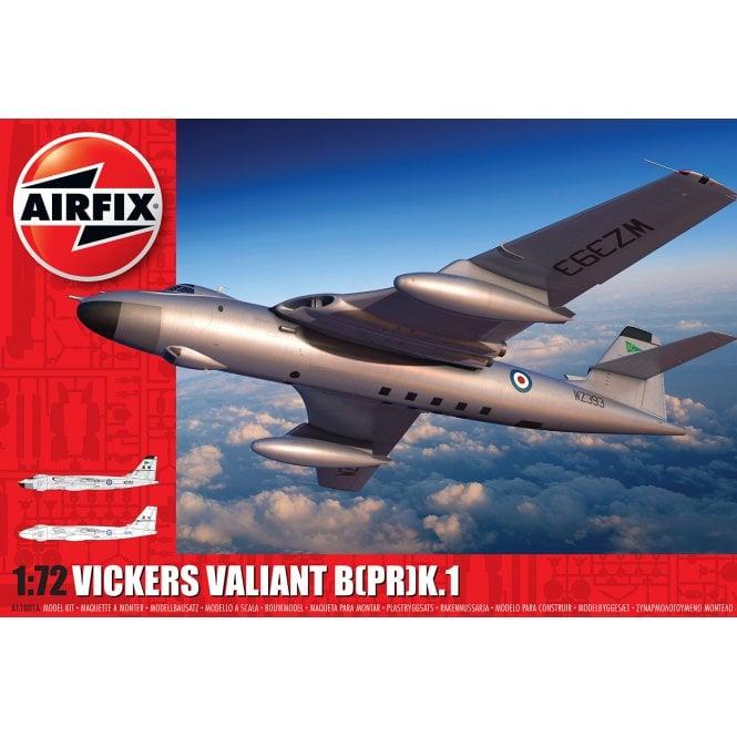 Airfix 1:72 Vickers Valiant Aircraft Model Kit