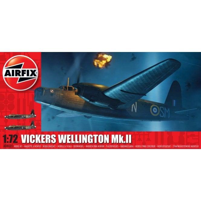Airfix 1:72 Vickers Wellington Mk.II Aircraft Model Kit