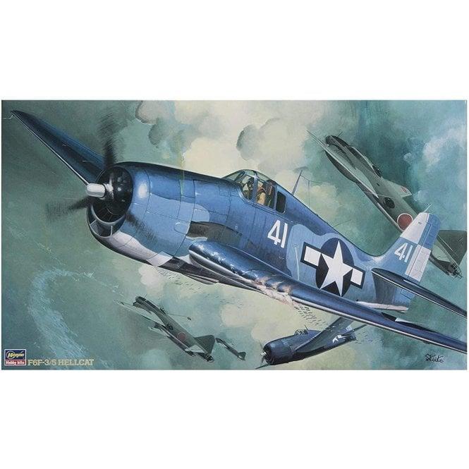 Hasegawa 1:32 Grumman F6F-3/5 Hellcat Aircraft Model Kit