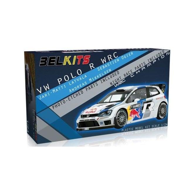 Belkits 1:24 VW Polo R WRC Car Model Kit