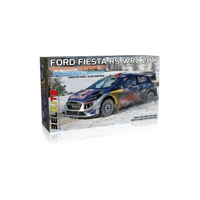 Belkits 1:24 Ford Fiesta RS WRC 2017 Monte-Carlo Rally 2017 Car Model Kit