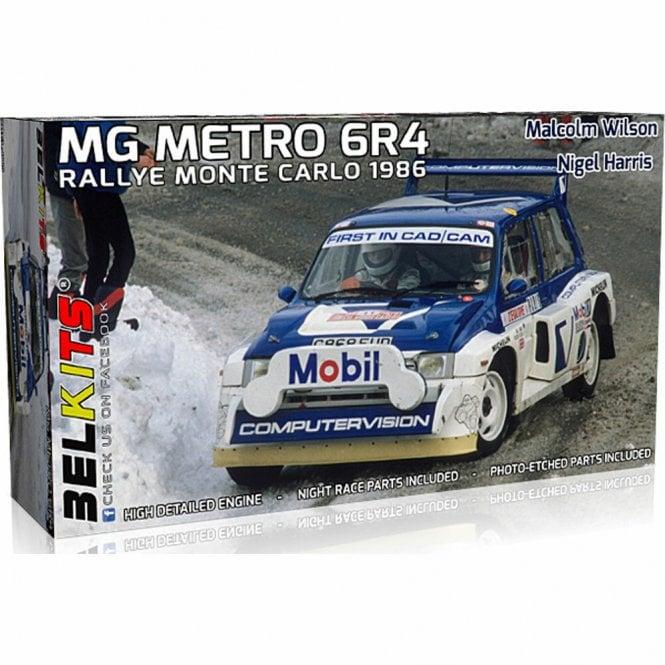 Belkits 1:24 MG Metro 6R4 - Monte Carlo Rally 1986 Car Model Kit