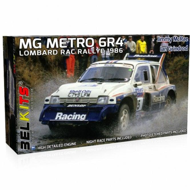 Belkits 1:24 MG Metro 6R4 - 1986 Lombard RAC rally Car Model Kit