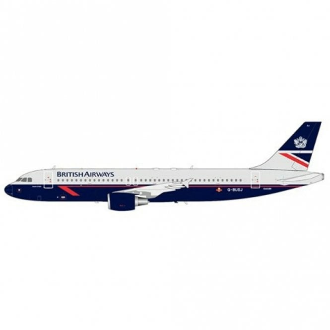 JC Wings 1:200 Airbus A320 British Airways ' Landor Livery ' - Reg  G-BUSJ
