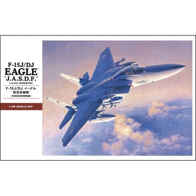 Hasegawa 1:48 F-15J-DJ Eagle 'J.A.S.D.F.' Aircraft Model Kit
