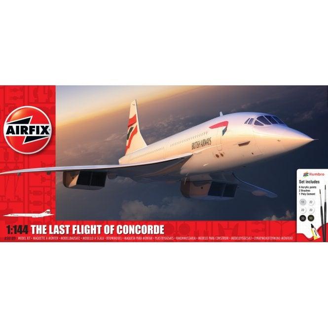 Airfix 1:144 Concorde Gift Set Aircraft Model Kit