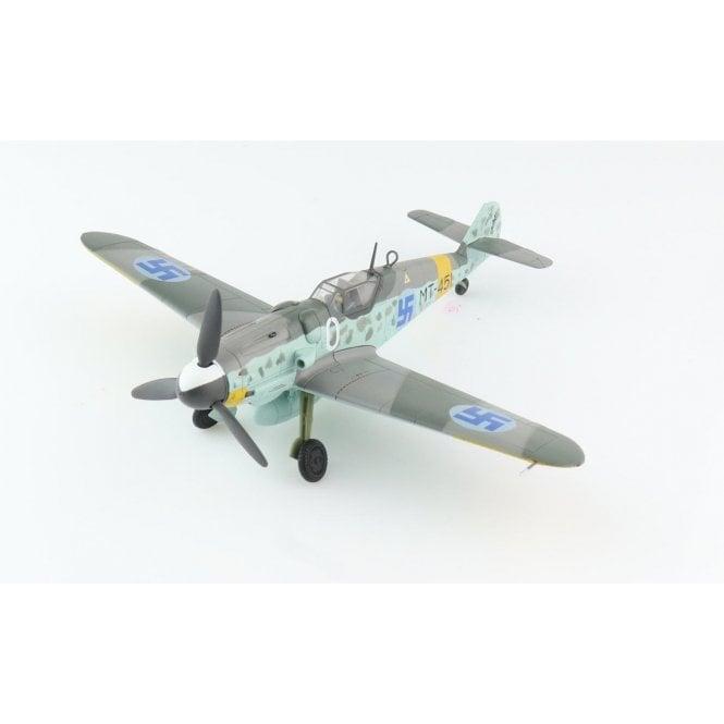 """Hobby Master 1:48 BF 109G-6 """"Juutilainen"""" """"White 0""""/MT-451, 1/LeLv34, Finnish Air Force, June 1944"""