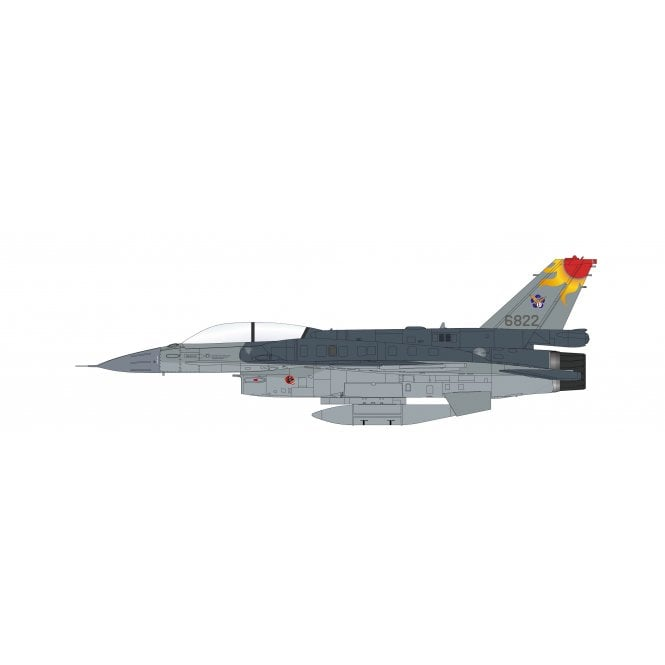Hobby Master 1:72 F-16V 6822, ROC (pseduo scheme) (with AGM-154 missiles)