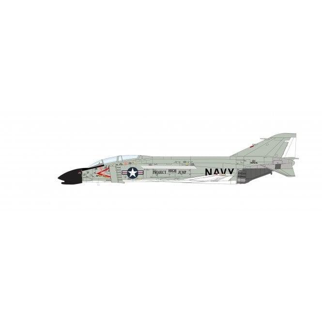 "Hobby Master 1:72 F4H-1 Phantom II ""Project High Jump"" 148423h, Test Pilot Commander John Watts Young, US Navy, April 1962"