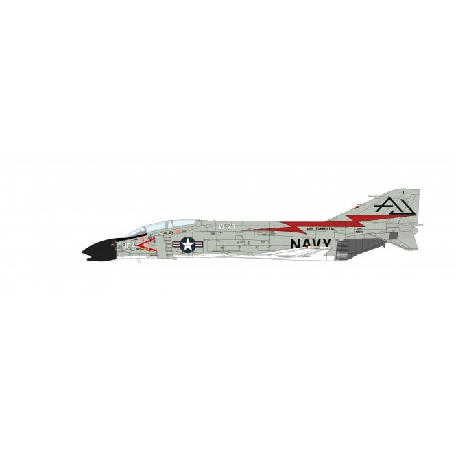 "Hobby Master 1:72 F4H-1 (F-4B) Phantom II 148381, VF-74 ""Bedevilers"", CVA-59 USS Forrestal, US Navy, 1962"