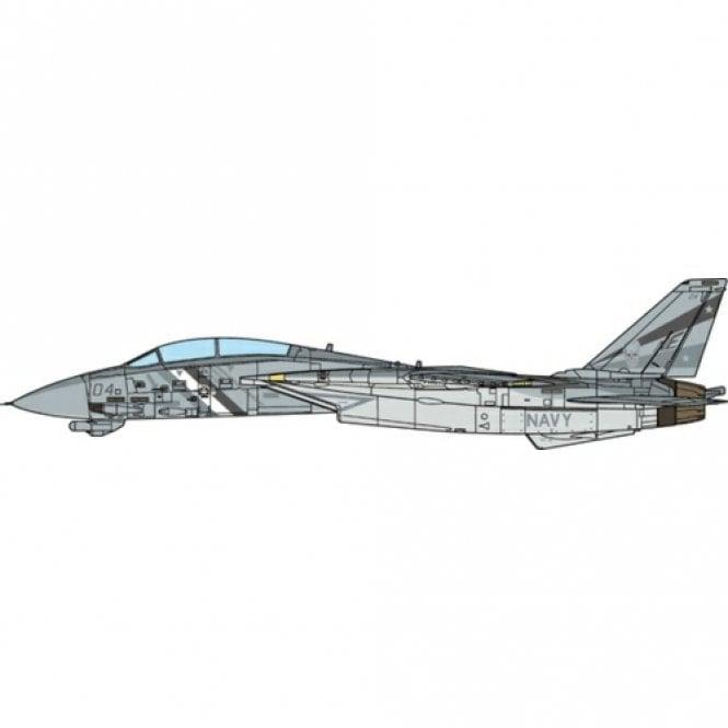 JC Wings 1:72 F-14D Tomcat U.S. Navy, VF-2 Bounty Hunters, 2002