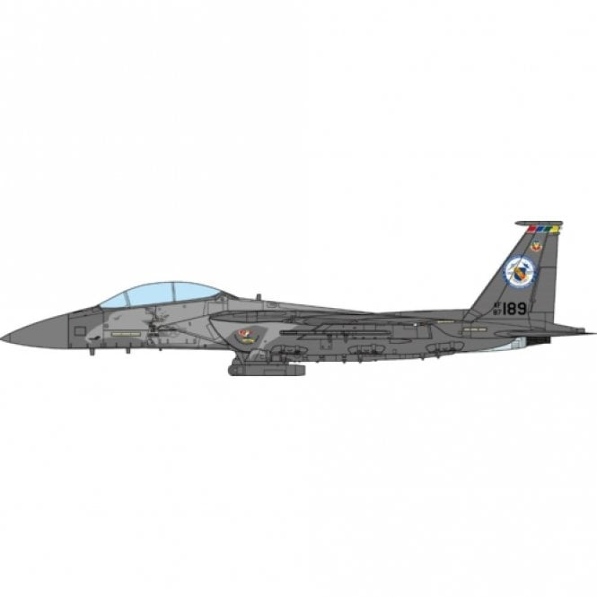 JC Wings 1:72 F-15E Strike Eagle US. Air Force, 4th Fighter Wing, 75th Anniversary Edition 2017