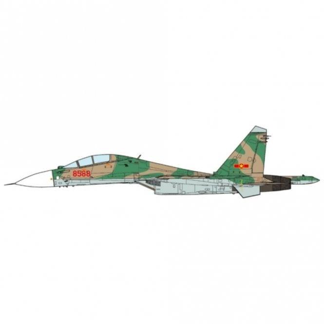JC Wings 1:72 Su-30 MK2V Flanker-G Vietnam Air Force, 923rd Fighter Regiment 2012