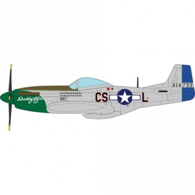 JC Wings 1:72 P-51D Mustang Raymond S.Wetmore US Army Air Force 370th FS, 359th FG, 8th AF, 1945