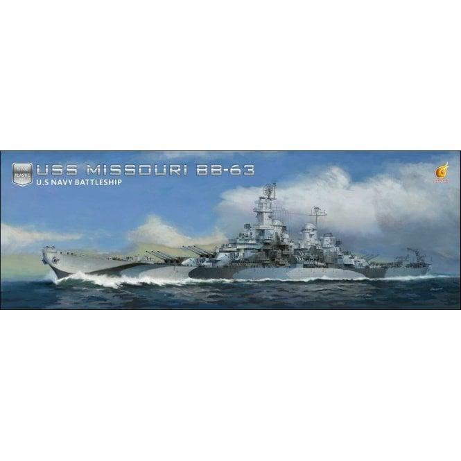 Very Fire 1:700 USS Missouri US Navy Battleship Model Ship Kit