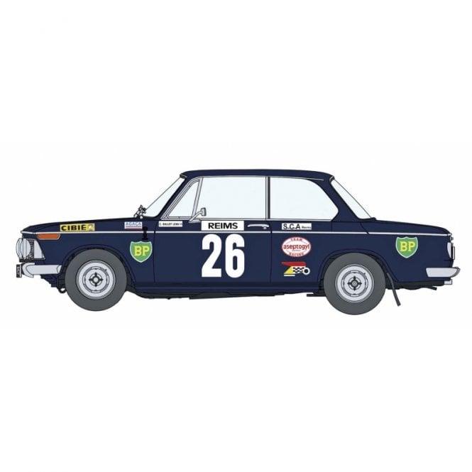 Hasegawa 1:24 BMW 2002 Ti - 1971 Monte-Carlo Rally Car Model Kit