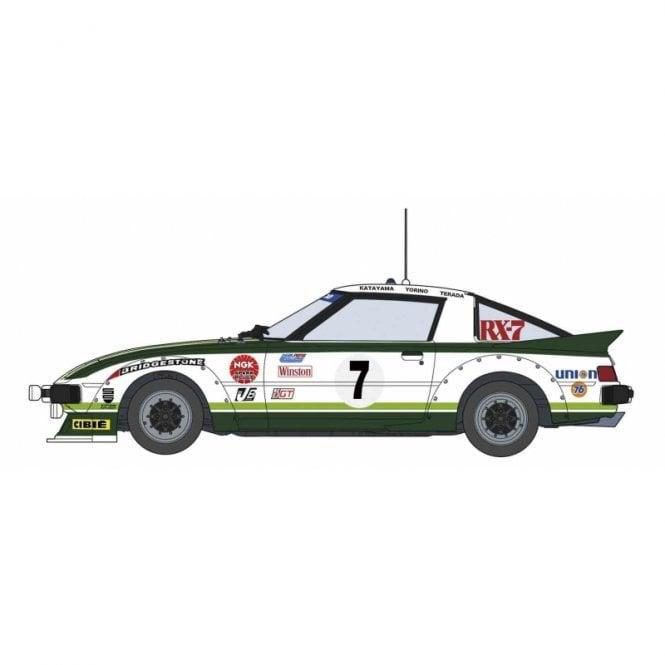 Hasegawa 1:24 MAZDA Savanna RX-7 - 1979 Datona GTU Class Winner Car Model Kit