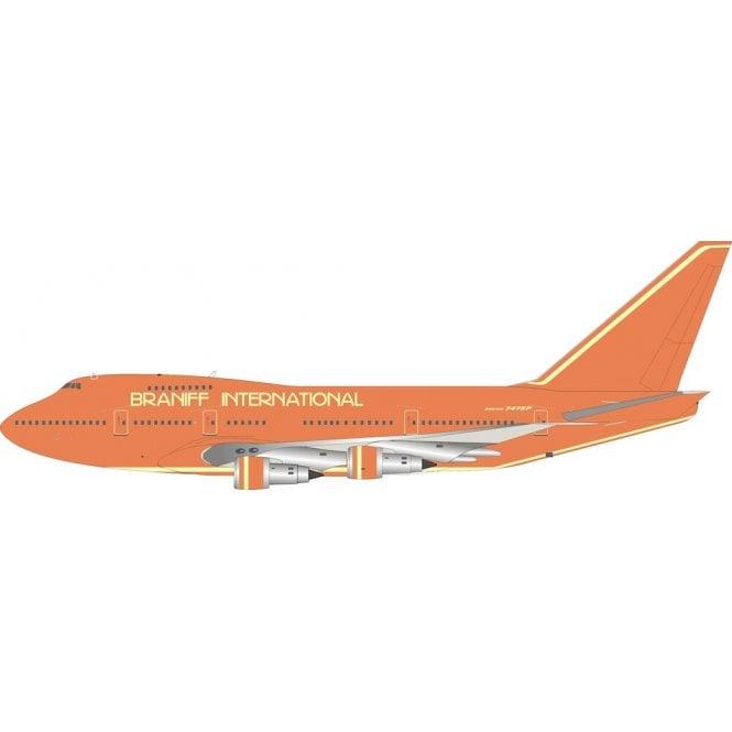 InFlight 200 Boeing 747SP Braniff International Airways Reg - N606BN - 1:200 Scale