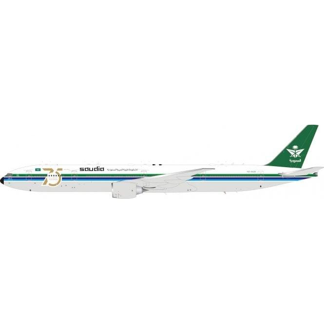 InFlight 200 Boeing 777-300ER Saudia Saudi Arabian Airlines retro 75th anniversary Reg - HZ-AK28 - 1:200 Scale