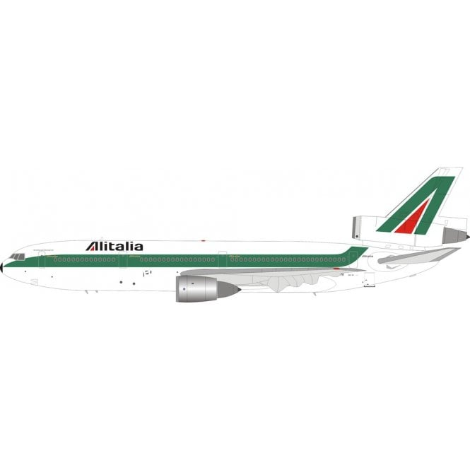 InFlight 200 McDonnell Douglas DC10-30 Alitalia - Reg I-DYNI - 1:200 Scale