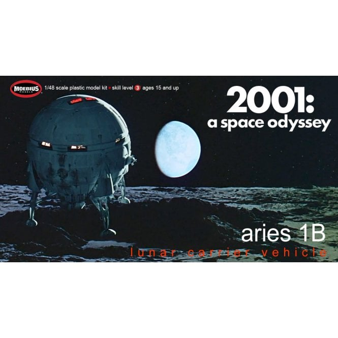 Moebius Models 1:48 Aries 1B from 2001: A Space Odyssey Model Kit