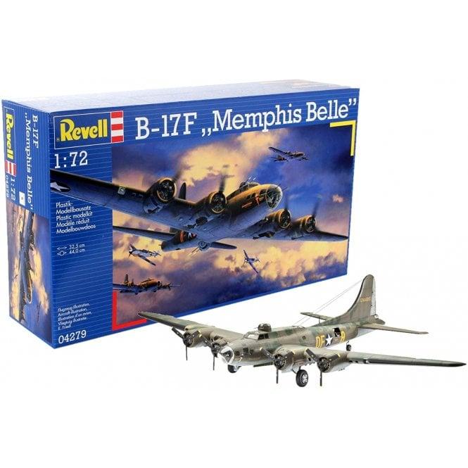 Revell 1:72 B-17F Flying Fortress Memphis Belle Aircraft Model Kit