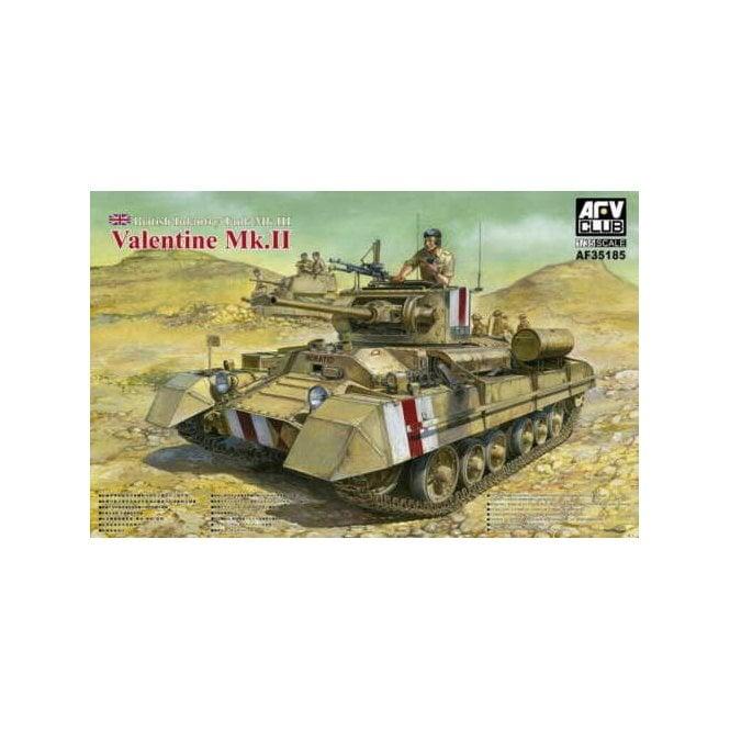 AFV Club 1:35 Valentine Mk II British Infantry Tank Military Model Kit