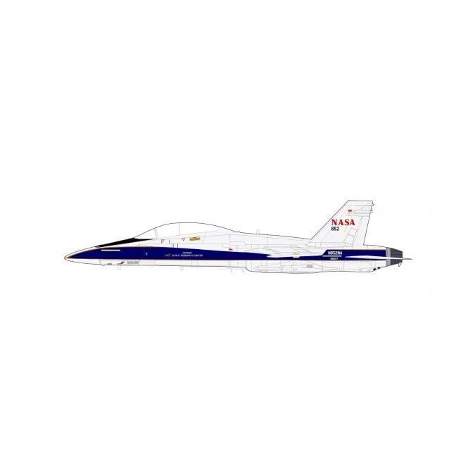 "Hobby Master 1:72 F/A-18B Hornet ""NASA"" N852NA/BuNo 161217, California 2012"