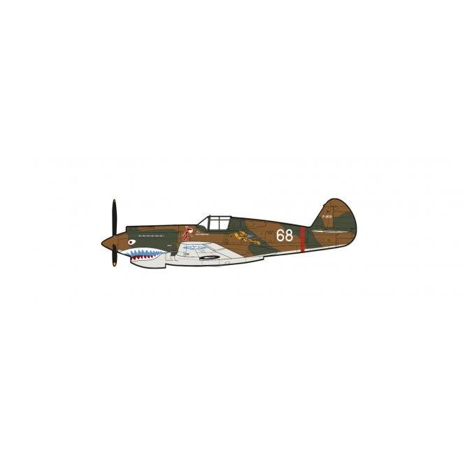 Hobby Master 1:48 Curtiss Hawk 81A-2 White 68, Ft Ldr Charles Older, AVG 3rd PS, Burma May 1942