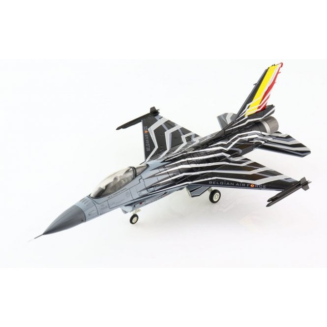 """Hobby Master 1:72 F-16AM """"Solo Display 2015 -- Blizzard"""" FA-123, Belgium Air Force"""