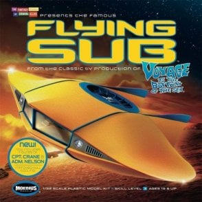Moebius Models 1:32 Voyage to The Bottom of The Sea Flying Sub Model Kit
