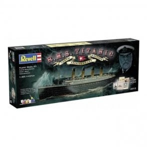 Revell 1:400 R.M.S. Titanic - 100th anniversary edition Model Ship Kit