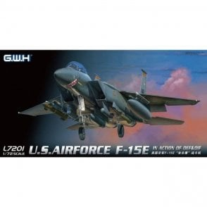 Great Wall Hobby 1:72 F-15E Strike Eagle USAF In action of OEF & OIF Aircraft Model Kit