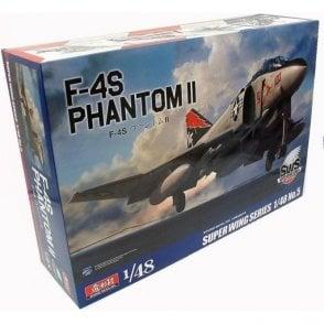 Zoukeimura 1:48 Super Wing Series McDonnell Douglas F-4S Phantom II Aviation Kit