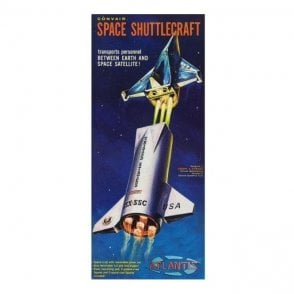 Atlantis Models 1:150 Convair Shuttle Craft Rocket Model Kit