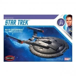 Polar Lights 1:1000 Star Trek NX-01 Enterprise (snap) Model Kit
