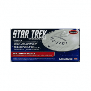 Polar Lights 1:350 Star Trek U.S.S Enterprise Weathering Decals