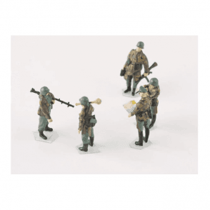 Precision Model Art 1:72 German Military Men Figure Set