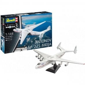 Revell 1:144 Antonov AN-225 Mrija Aircraft Model Kit