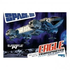 MPC 1:72 Space: 1999 Eagle Transporter (New Tooling) Model Kit