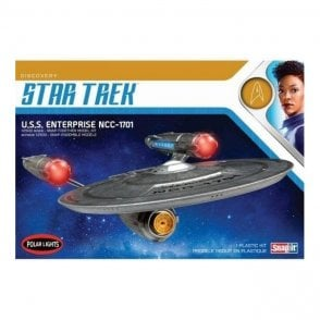Polar Lights 1:2500 Star Trek Discovery: USS Enterprise - SNAP KIT