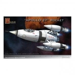 Pegasus 1:72 Apollo 27 Rocket Model Kit
