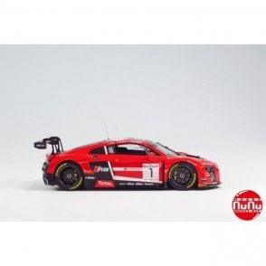 NUNU 1:24 Audi R8 SPA 24h 2015 2 in 1 Car Model Kit