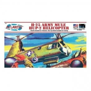 Atlantis Models 1:48 Piasecki H-25A Army Mule Helicopter Aircraft Model Kit