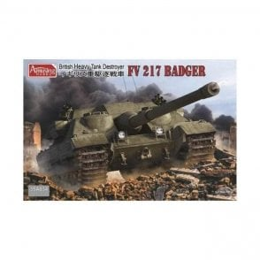 Amusing Hobby 1:35 British Heavy Tank FV217 BADGER Military Model Kit